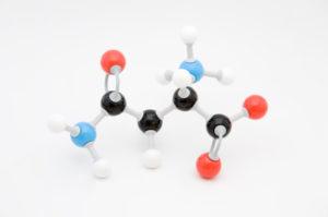 Die Struktur Aminosäure L-Asparagin